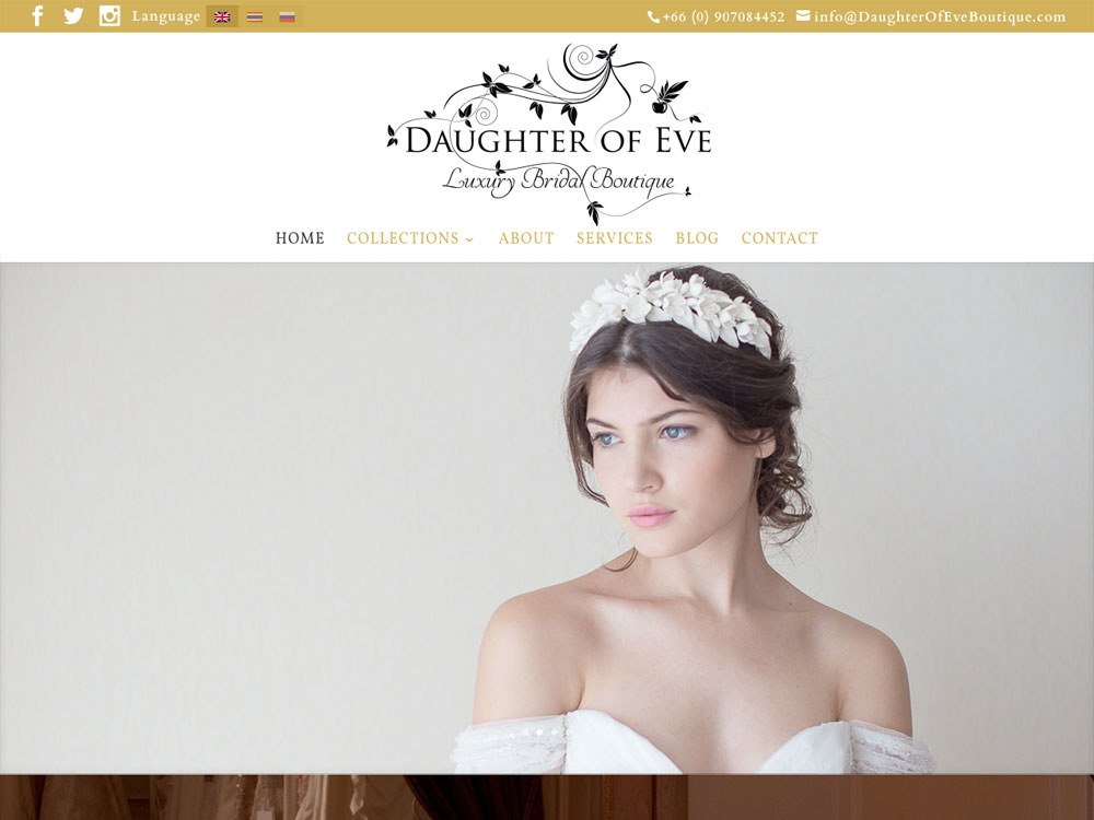 Daughter of Eve Boutique - Homepage