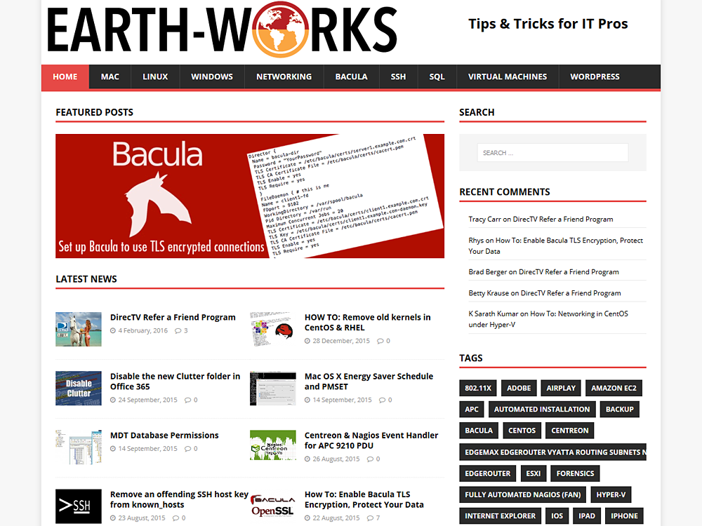 Earth-Works Blog
