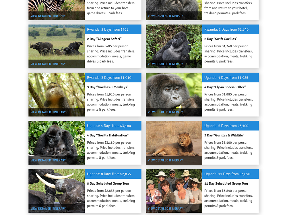 Gorilla Safari Company - Custom Plugins and Shortcode