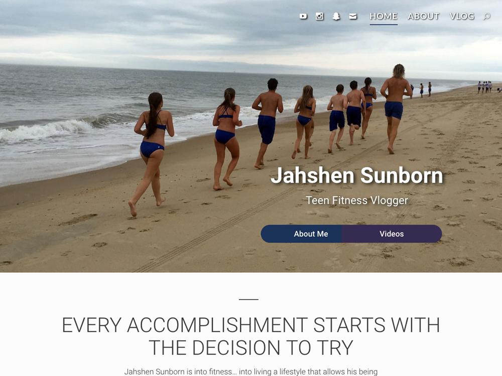 JahshenSunborn.com Vlogging Site