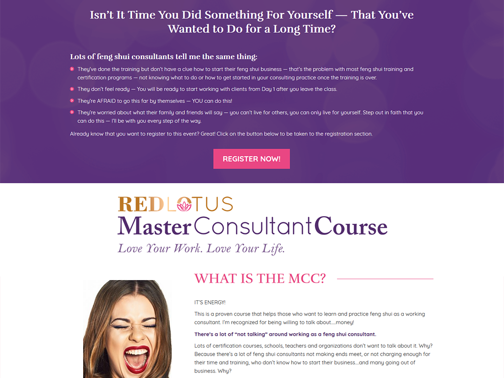 Red Lotus Master Consultant Course