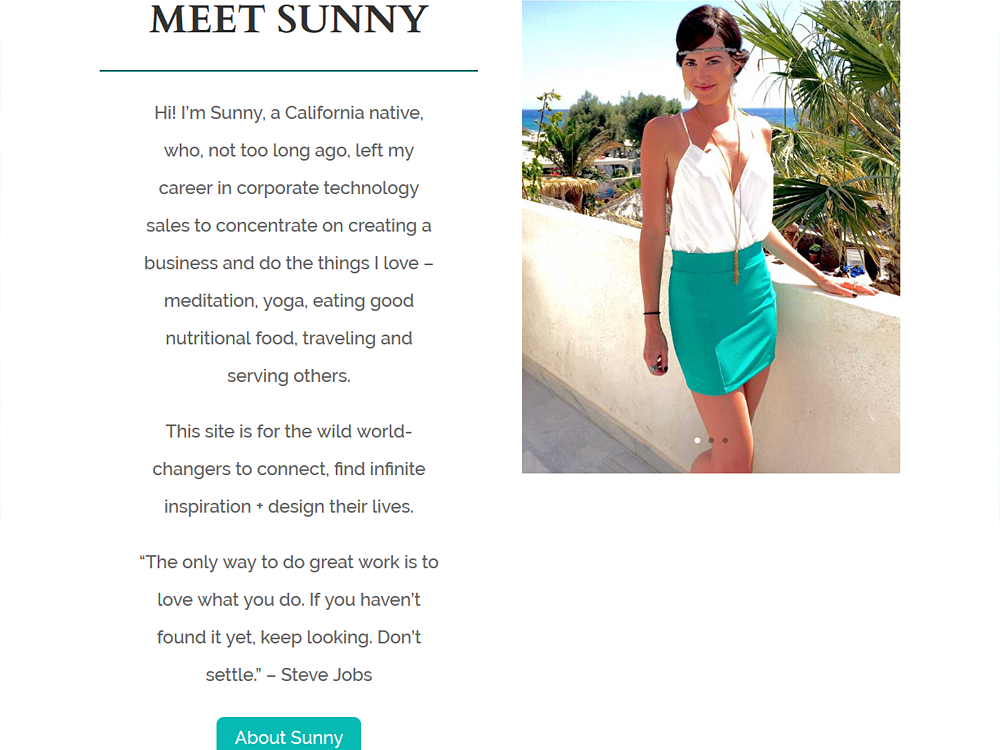 Vita Sole Website