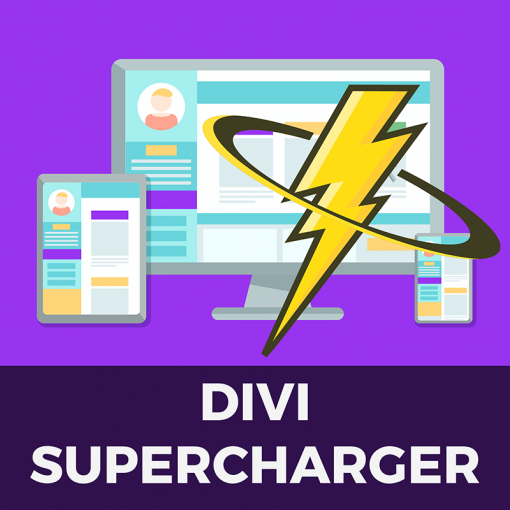 Divi Supercharger Plugin Logo