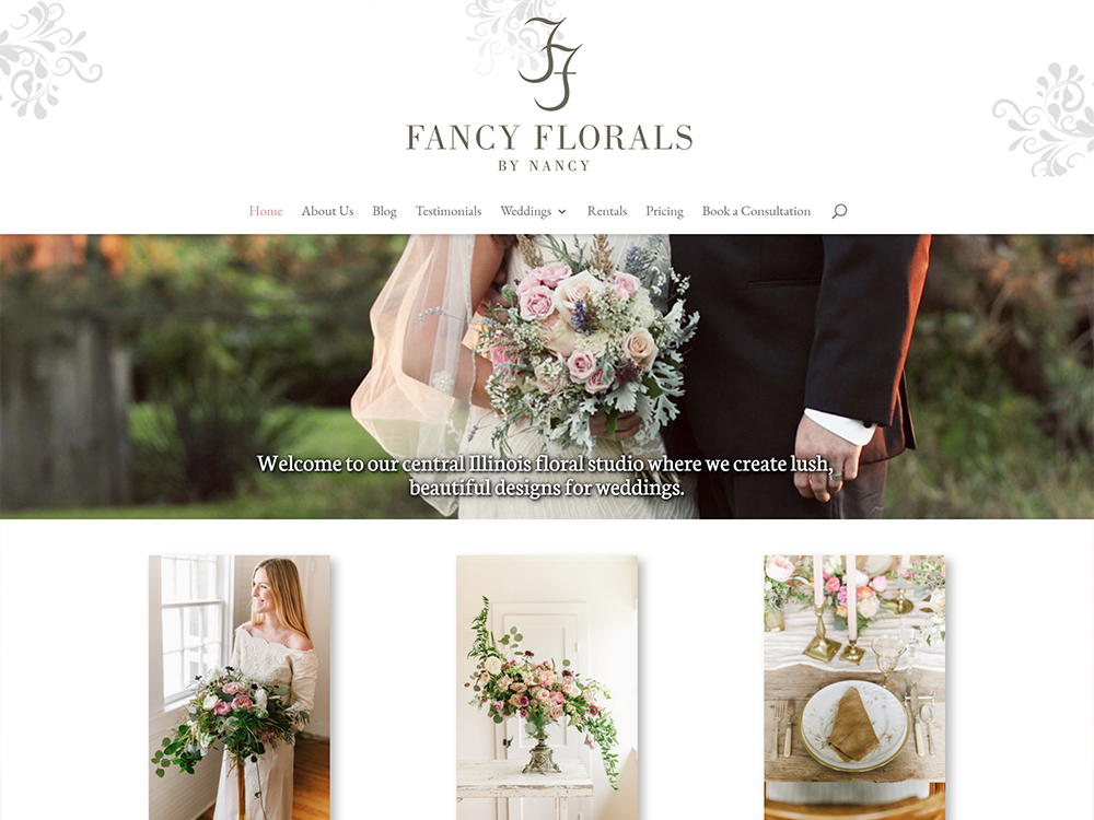 Fancy Florals by Nancy