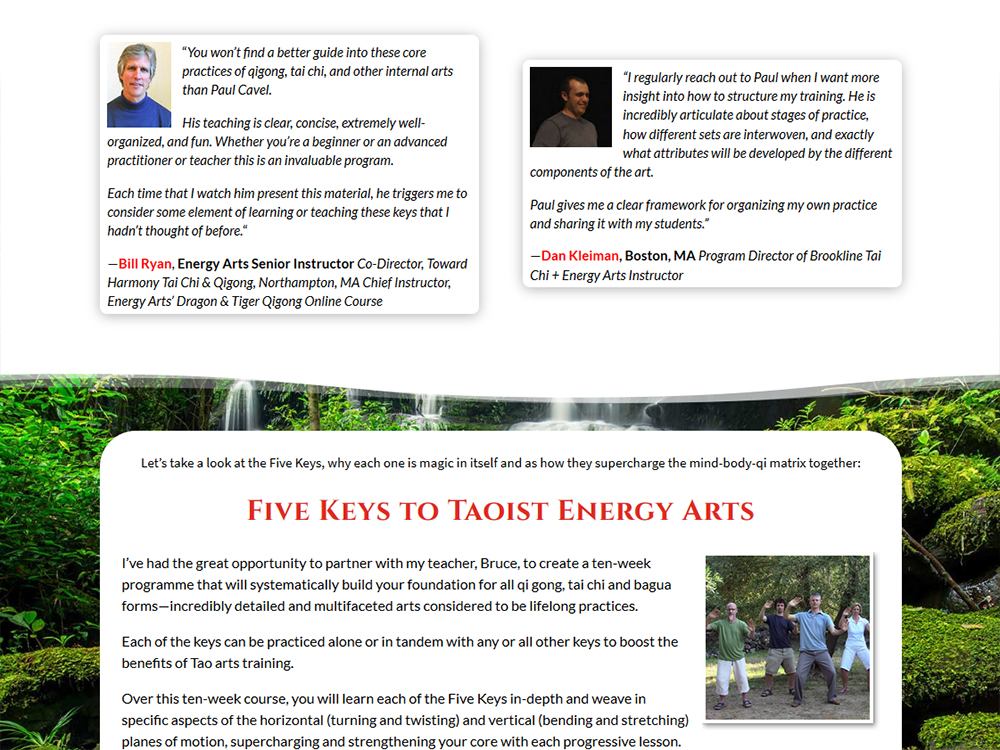 Five Keys to Taoist Energy Arts