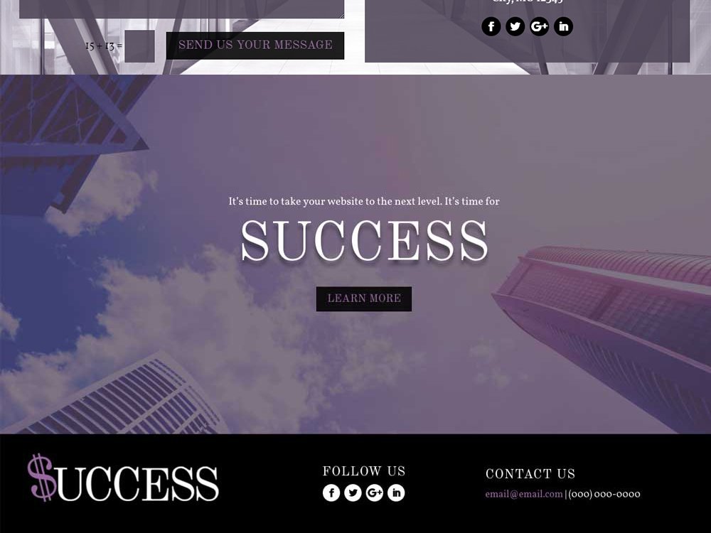 Success - Divi Child Theme