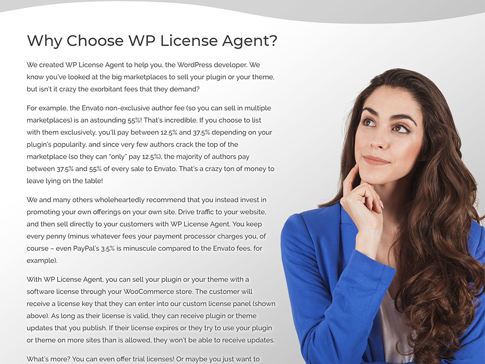 WP License Agent